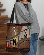 Dentist love inspire All-over Tote aos-all-over-tote-lifestyle-front-09