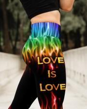Love Is Love High Waist Leggings aos-high-waist-leggings-lifestyle-11
