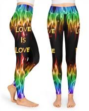 Love Is Love High Waist Leggings front