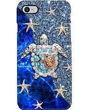 Turtle Blue Diamond Phone Case i-phone-8-case