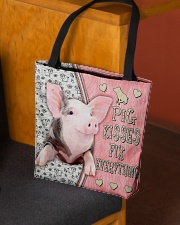 Pig Kisses Fix Everything Bag All-over Tote aos-all-over-tote-lifestyle-front-02
