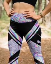 Golf Hologram High Waist Leggings aos-high-waist-leggings-lifestyle-22