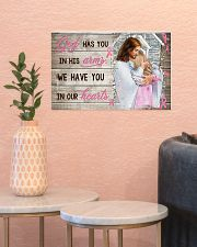 God Has You In His Arm Personalize  17x11 Poster poster-landscape-17x11-lifestyle-21