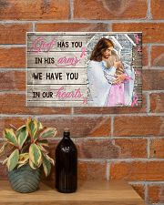 God Has You In His Arm Personalize  17x11 Poster poster-landscape-17x11-lifestyle-23