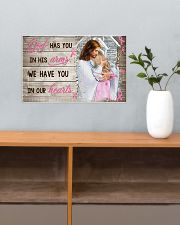 God Has You In His Arm Personalize  17x11 Poster poster-landscape-17x11-lifestyle-24