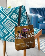 Hair Leather Pattern Print  All-over Tote aos-all-over-tote-lifestyle-front-01