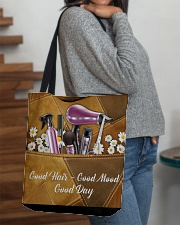 Hair Leather Pattern Print  All-over Tote aos-all-over-tote-lifestyle-front-09