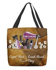 Hair Leather Pattern Print  All-over Tote front