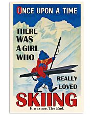 Once Upon A Time Skiing 11x17 Poster front