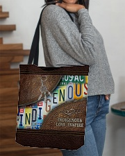 Native Indigenous Love Inspire  All-over Tote aos-all-over-tote-lifestyle-front-09