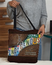 Native Indigenous Love Inspire  All-over Tote aos-all-over-tote-lifestyle-front-10