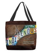 Native Indigenous Love Inspire  All-over Tote back