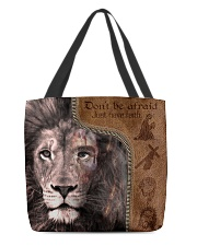 Just Have Faith  All-over Tote back