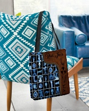 Rad Tech Leather Pattern Print All-over Tote aos-all-over-tote-lifestyle-front-01