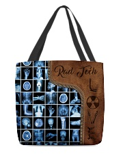 Rad Tech Leather Pattern Print All-over Tote back
