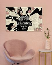 In This Salon Hairdresser 36x24 Poster poster-landscape-36x24-lifestyle-19