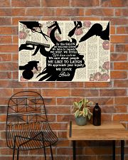 In This Salon Hairdresser 36x24 Poster poster-landscape-36x24-lifestyle-20