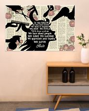 In This Salon Hairdresser 36x24 Poster poster-landscape-36x24-lifestyle-22