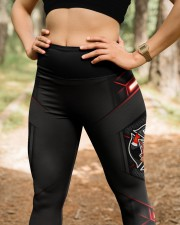 Firefighter Light Leggings  High Waist Leggings aos-high-waist-leggings-lifestyle-22