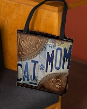 Cat Mom Favourite People  Bag  All-over Tote aos-all-over-tote-lifestyle-front-02