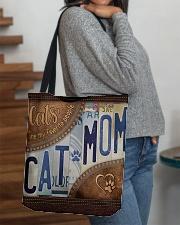 Cat Mom Favourite People  Bag  All-over Tote aos-all-over-tote-lifestyle-front-09