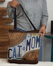 Cat Mom Favourite People  Bag  All-over Tote aos-all-over-tote-lifestyle-front-10