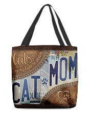 Cat Mom Favourite People  Bag  All-over Tote back