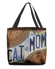 Cat Mom Favourite People  Bag  All-over Tote front