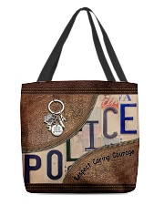 Police Respect Caring Courage All-over Tote back