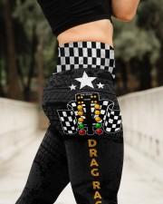 Drag Racing Tree High Waist Leggings aos-high-waist-leggings-lifestyle-11