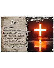 Jesus Forgiveness  17x11 Poster front