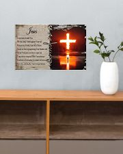 Jesus Forgiveness  17x11 Poster poster-landscape-17x11-lifestyle-24