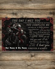 Personalized Motor The Day I Met You 17x11 Poster aos-poster-landscape-17x11-lifestyle-14