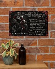 Personalized Motor The Day I Met You 17x11 Poster poster-landscape-17x11-lifestyle-23