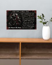 Personalized Motor The Day I Met You 17x11 Poster poster-landscape-17x11-lifestyle-24