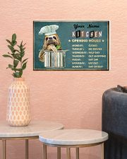 Sloth Kitchen Opening Hours 17x11 Poster poster-landscape-17x11-lifestyle-21