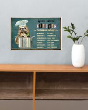 Sloth Kitchen Opening Hours 17x11 Poster poster-landscape-17x11-lifestyle-24