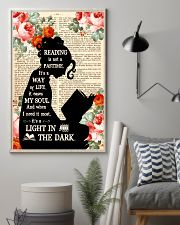Reading Is Not A Pastime 11x17 Poster lifestyle-poster-1