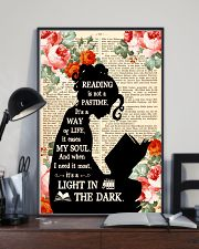 Reading Is Not A Pastime 11x17 Poster lifestyle-poster-2