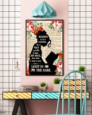 Reading Is Not A Pastime 11x17 Poster lifestyle-poster-6