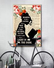 Reading Is Not A Pastime 11x17 Poster lifestyle-poster-7