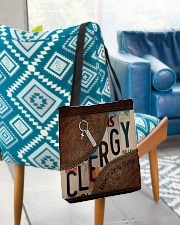 Clergy All-over Tote aos-all-over-tote-lifestyle-front-01