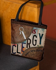 Clergy All-over Tote aos-all-over-tote-lifestyle-front-02