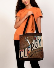 Clergy All-over Tote aos-all-over-tote-lifestyle-front-06