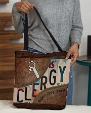 Clergy All-over Tote aos-all-over-tote-lifestyle-front-10