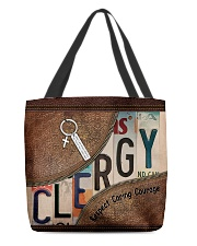 Clergy All-over Tote back