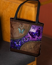 Butterfly leather pattern All-over Tote aos-all-over-tote-lifestyle-front-02