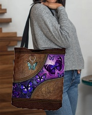 Butterfly leather pattern All-over Tote aos-all-over-tote-lifestyle-front-09