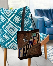 Farmer Respect Caring Courage All-over Tote aos-all-over-tote-lifestyle-front-01