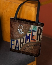 Farmer Respect Caring Courage All-over Tote aos-all-over-tote-lifestyle-front-02
